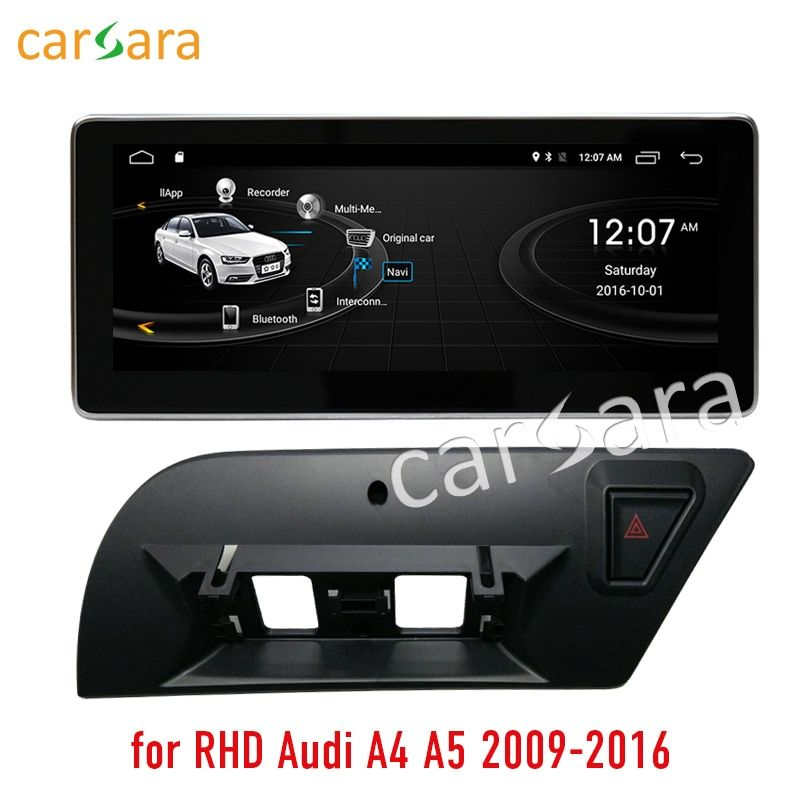 2G RAM 32G ROM Android touch screen for right hand drive Audi A4 A5 2009-2016 10.25