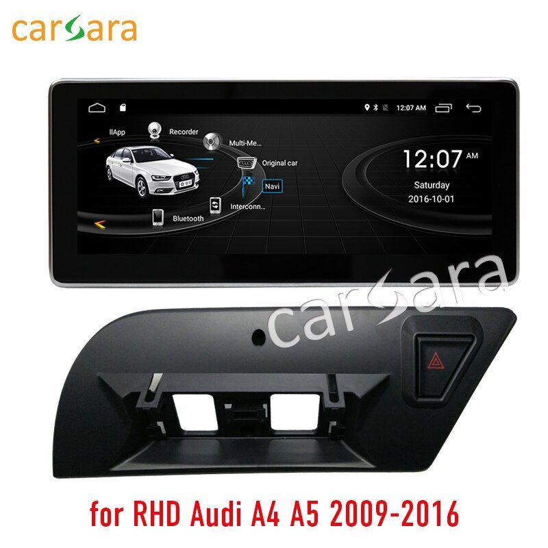 2G RAM 32G ROM Android touchscreen für rechtslenker Audi A4 A5 2009-2016 10,25 display GPS Navi radio multimedia player
