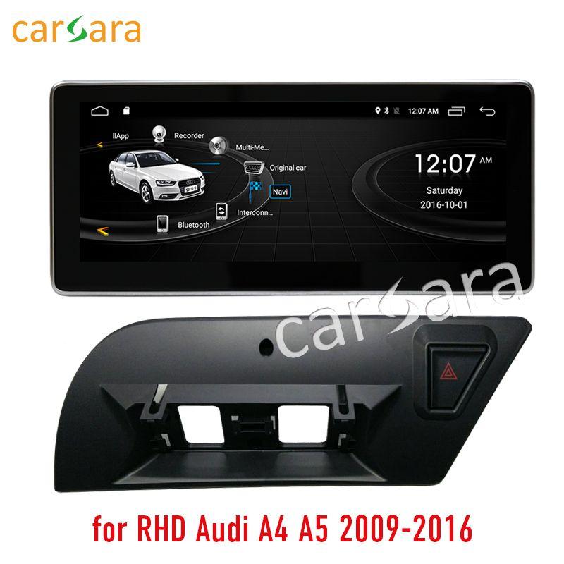 2g RAM 32g ROM Android touchscreen für rechtslenker Audi A4 A5 2009-2016 10,25