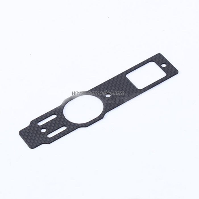 Alzrc Devil 450 Fast D45F19 parts Carbon Bottom Plate ALZrc 450 RC Helicopter t-REX 450 Spare Parts FreeTrack Shipping