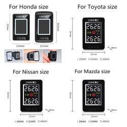 Careud TPMS U912 Monitor untuk Nissan/Mazda/Toyota/Honda Ban Tekanan Monitor Sistem Digunakan untuk Monitor Hilang atau Rusak Tidak Sensor