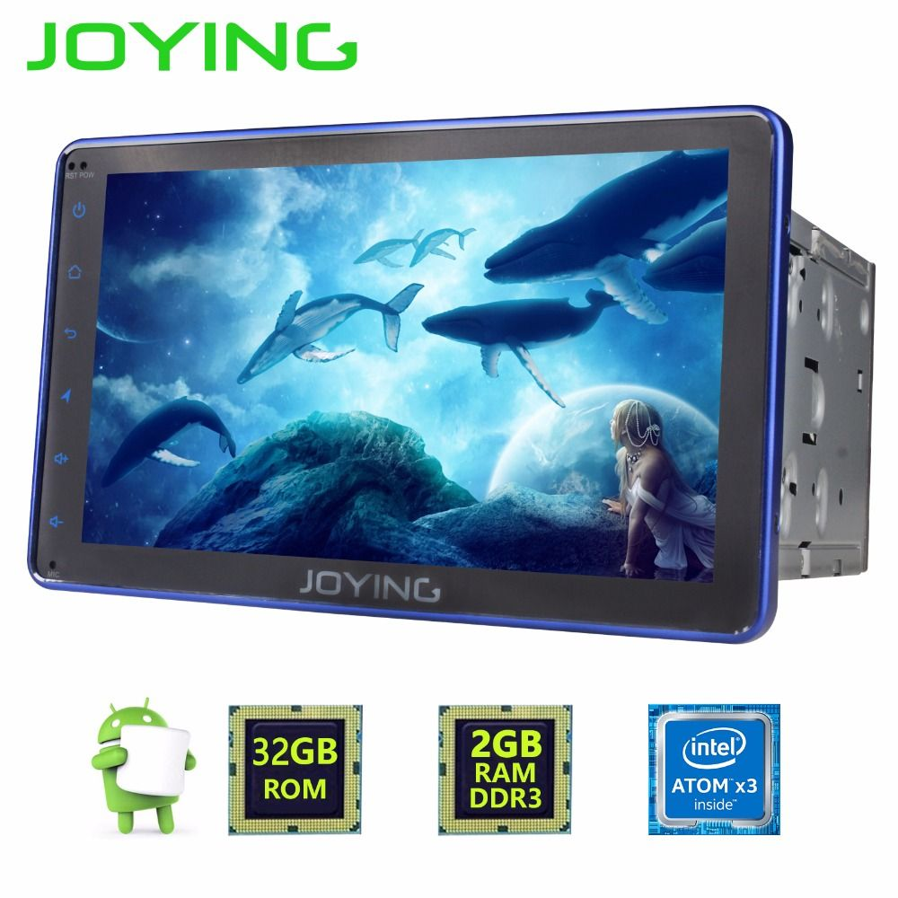 JOYING 2GB+32GB Android 6.0 Universal Double 2 DIN 8