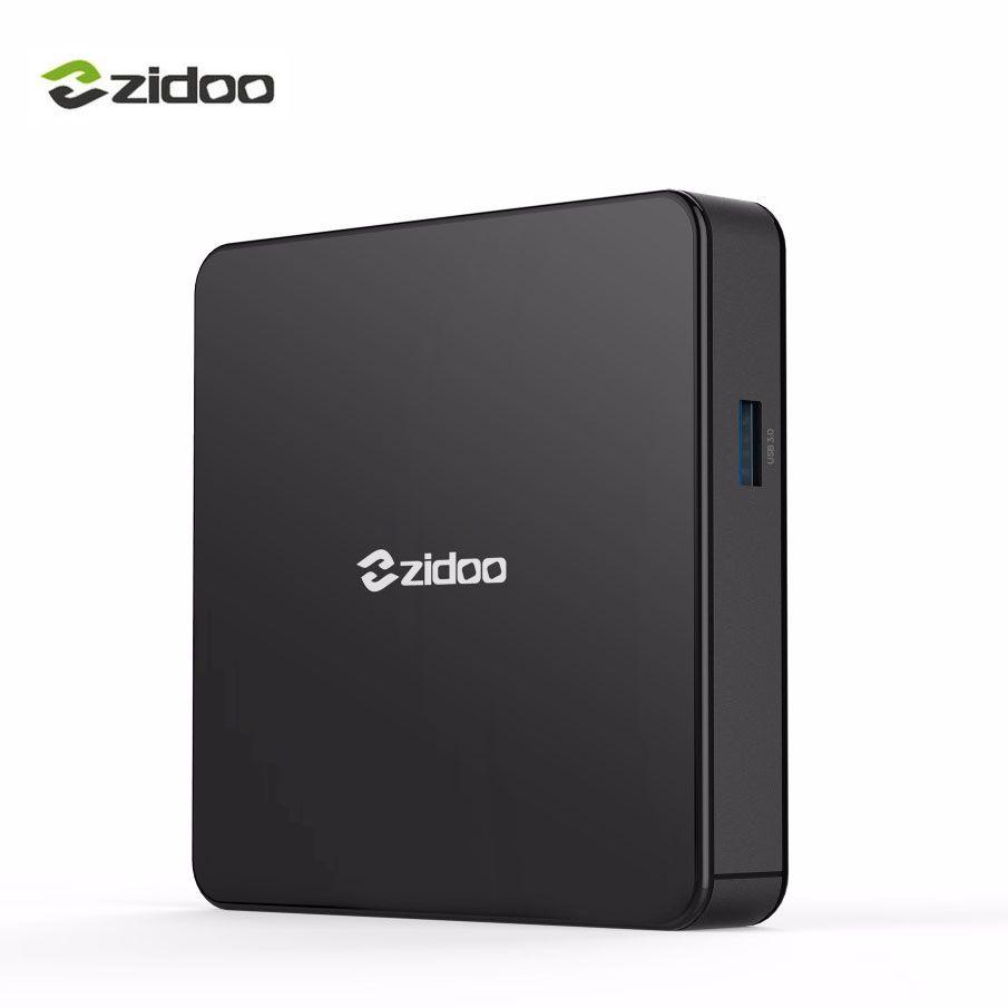 Zidoo X7 Android 7.1 HDR HDMI Smart TV Box Bluetooth4.1 USB 3.0 Per-install Kodi Build For IPTV 2G 8G Frees Shipping