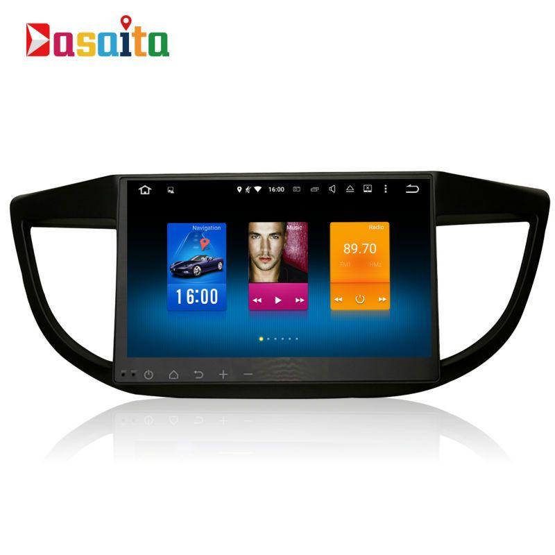 Car 2din android GPS Navi for Honda CRV 2012 - 2014 CR-V navigation head unit multimedia 4Gb+32Gb 64bit Android 6.0 PX5 8-Core