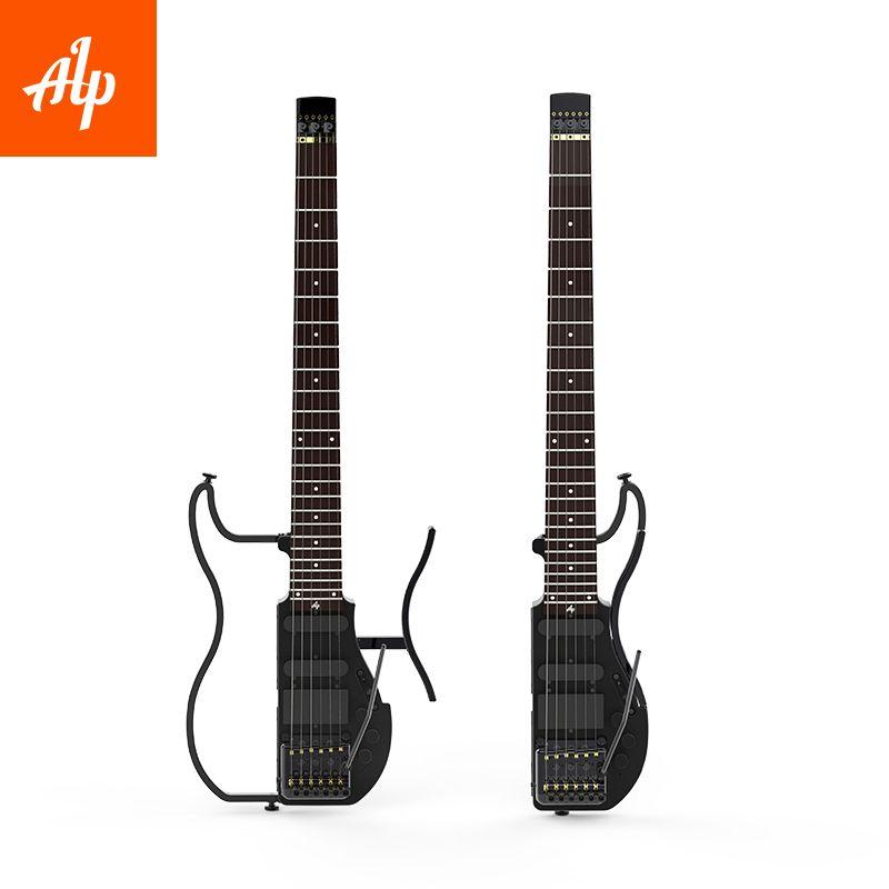 ALP Headless Travel Electric Guitar Special AD121 tremolo travel guitar portable guitar