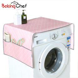 Bakingchef Rumah Tangga Tahan Air Kulkas Debu Cover dengan Tas Penyimpanan untuk Dapur Mesin Cuci Aksesoris Persediaan