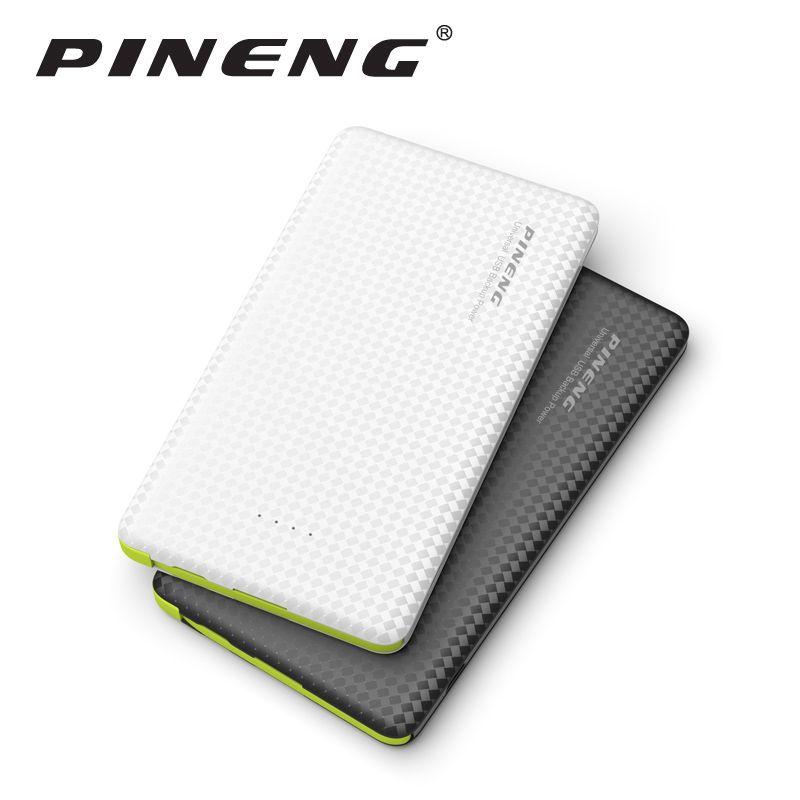 Pineng Puissance Banque 5000 mAh Batterie Externe Portable Mobile Chargeur PN-952 Avec Double USB Ultra Mince Powerbank