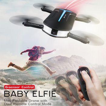 JJRC H37 Mini Drone avec Caméra Elfie RC Quadcopter Selfie Drone avec Beauté Mode FPV Caméra 720 P Pliable RC Hélicoptère VS H37