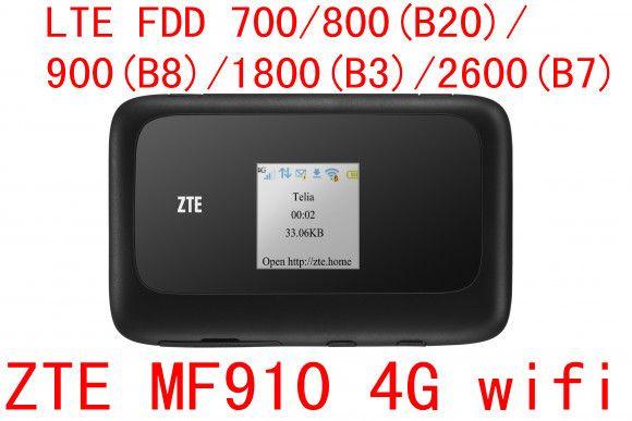 Déverrouiller ZTE MF910 LTE 4g mifi routeur bande 28 700 mhz 4g wifi dongle Mobile Hotspot poche mifi pk mf90 mf91 mf60 mf65 mf95 mf910v