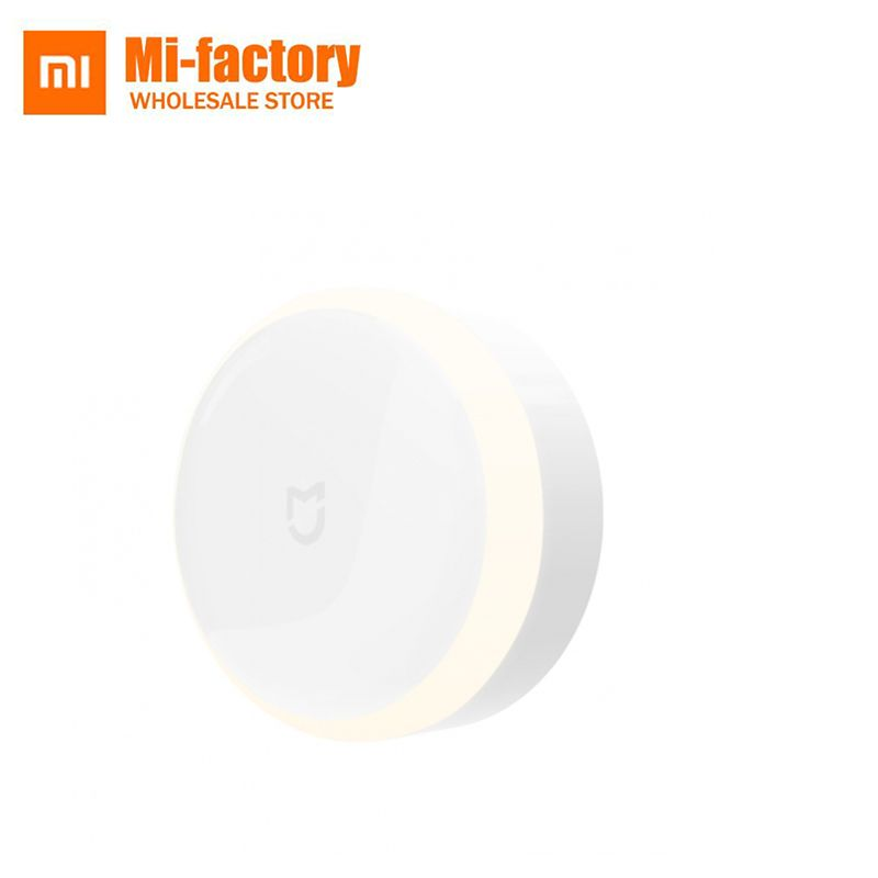 Xiaomi Mijia LED Couloir Nuit Lumière Lampe Led Télécommande Infrarouge Body Motion Sensor 0.25 W Blanc pour Chambre de Bébé escalier