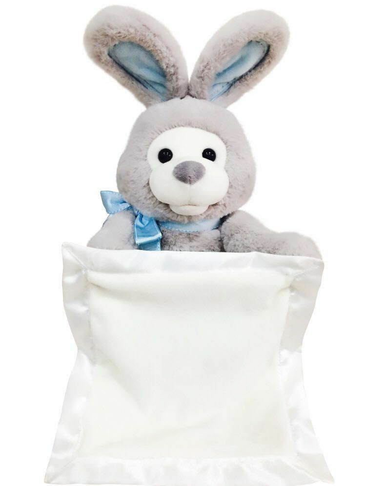 30cm New style Peek A Boo Rabbit Plush Toy Electronic Music Rabbit Dolls for Child gift stuffed plush birthday gift pink/gray