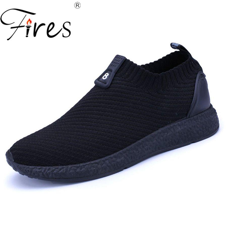 Feux hommes chaussures d'été chaussures de Sport légères pour homme chaussures de course chaussures de Sport mouche chaussures de Sport tendance automne Zapatillas chaussures de Jogging plates