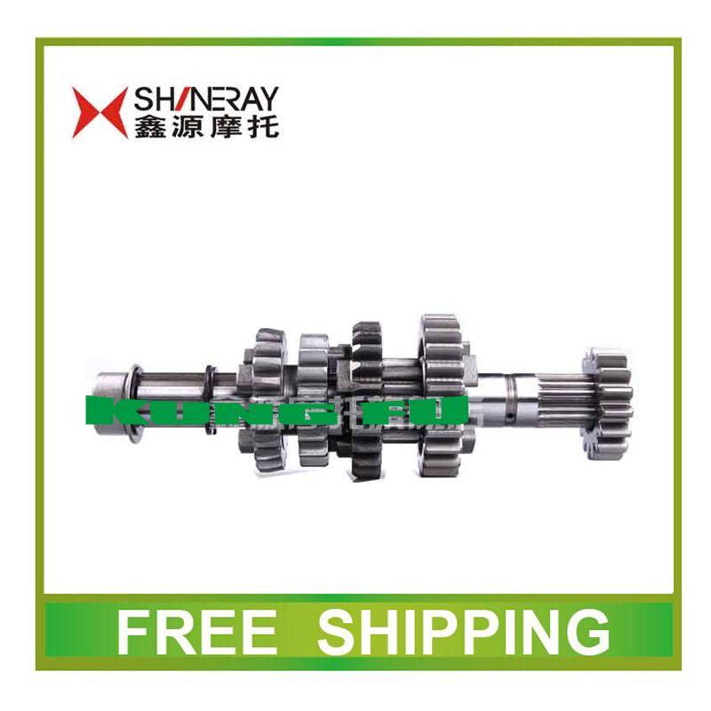 Shineray X2 X2X xy250gy 250cc countershaft main counter shaft gear dirt pit bike motorcycle accessories free shipping