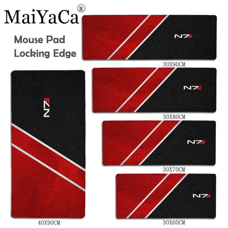 MaiYaCa Vintage Kühlen N7 Große Maus pad PC Computer matte Größe für 30x60 cm 40x90 cm gummi Rechteck Mauspad