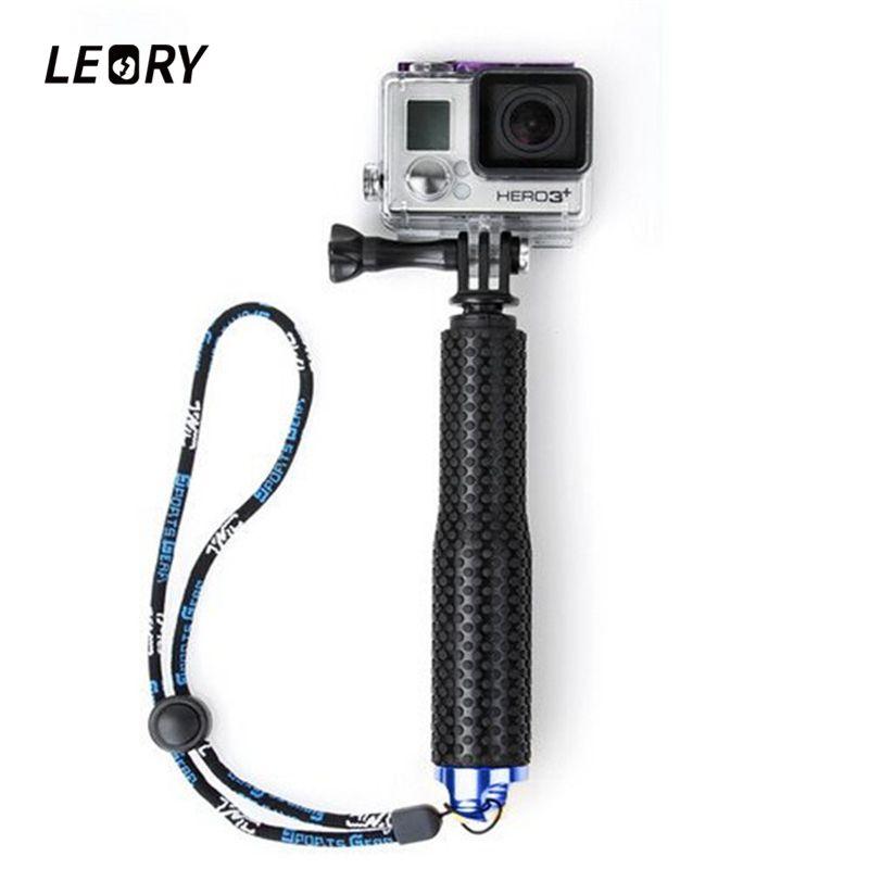 36 pouce Extensible Auto Selfie Bâton Pour SP POV Pôle De Poche Manfrotto Plongée Depuis Pour Gopro Hero 4 3 + 3 2 sj4000 Sport Caméra