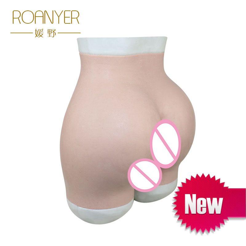 Roanyer Crossdressing hip enhancer silicone Panties Drag Queen Shemale crossdresser Transgender Sexy buttocks Soft Underwear