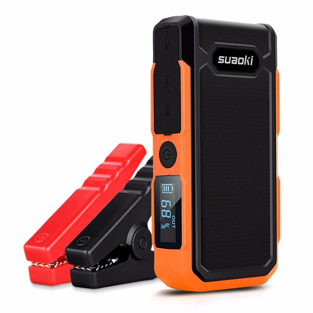 Suaoki U10 20000 mah Auto jump starter Original Power Bank Externe Batterie pack Akku 12 v 800A Spitze mit LED Licht