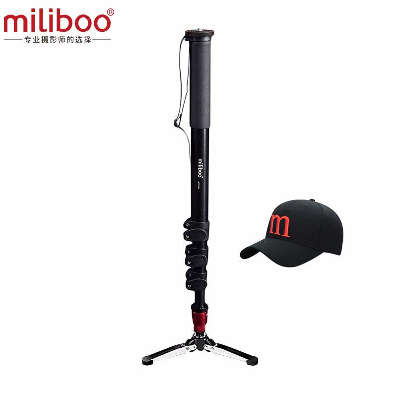 Miliboo MTT705A (sans tête) monopode Portable en Aluminium pour caméscope professionnel/vidéo/appareil photo/trépied DSLR