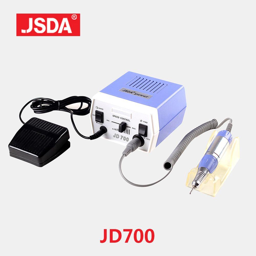 Usine JSDA JD700 35W Gel à ongles vernis à ongles forets outils électrique polisseuse Machine pour manucure pédicure fichier ongles Art équipement