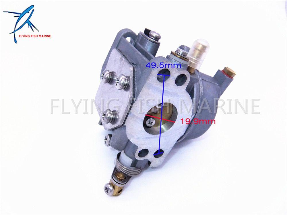 Outboard Motors Carburetor Assy 67D-14301-01 for Yamaha 4-stroke 4hp 5hp F4A F4M 67D-14301-13-00 67D-14301-11