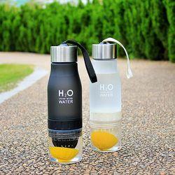 New 2017 Xmas Gift 700ml Water Bottle plastic Fruit infusion bottle Infuser Drink Outdoor Sports Juice lemon Portable Water