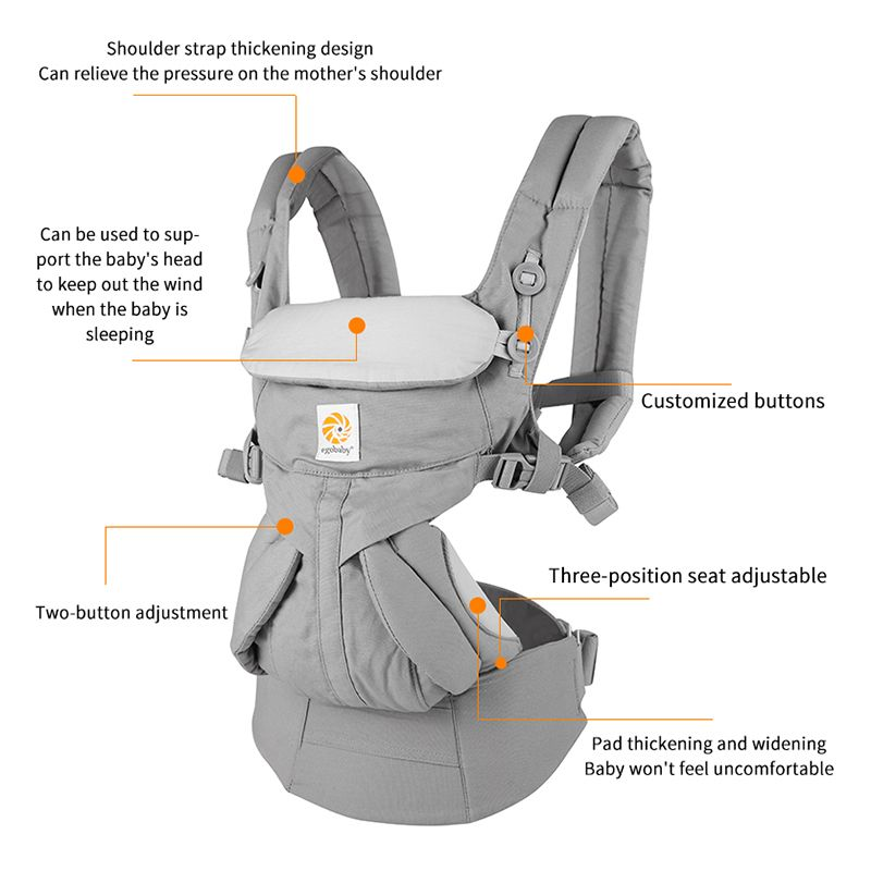 Egobaby omni 360 Baby Träger Multifunktions Atmungsaktive Infant Träger Rucksack Kid Wagen Kleinkind baby Sling Wrap Hosenträger
