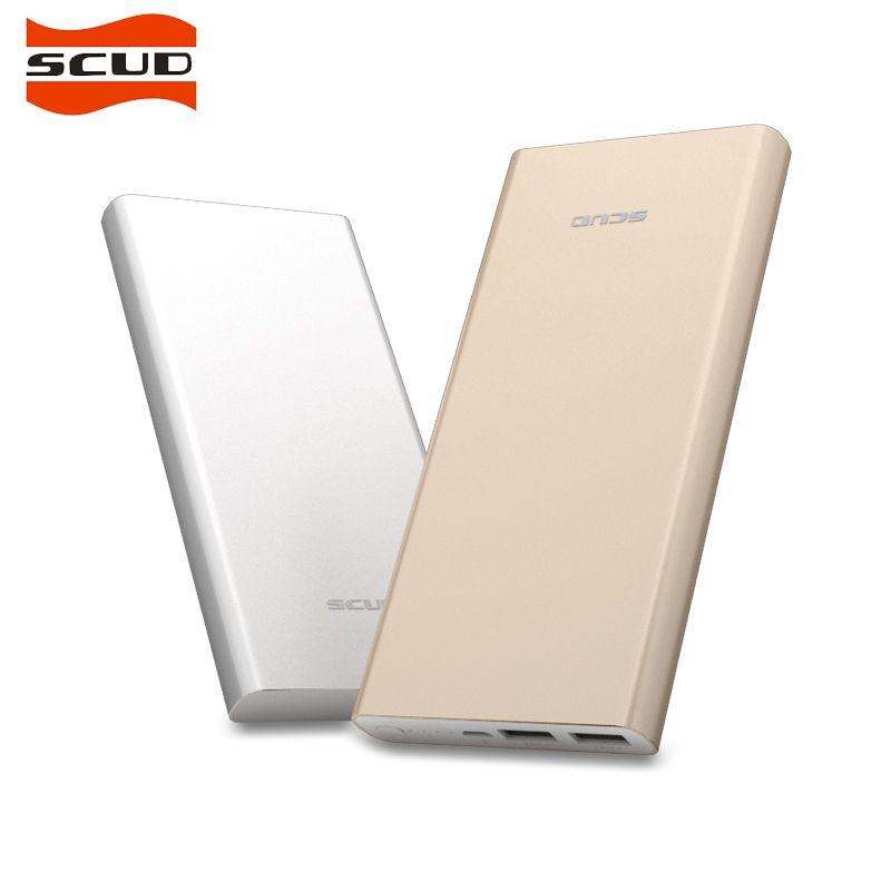 SCUD Banco de la Energía 15000 mah Batería Externa Portátil Móvil Cargador Dual USB Powerbank Rápido M105 PLUS