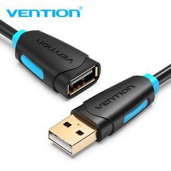 Tions USB 2.0 Verlängerung Kabel Männlich zu Weiblich USB Kabel Verlängern USB Verlängerung Kabel 1 m 1,5 m 2 m 3 m Cord Extender Für PC Laptop HD
