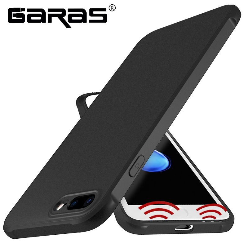 GARAS For iphone 7 Case Silicone Matte Soft Cover For IPhone7 Plus Case TPU Mobile Phone cover For Iphone6 Plus 6 S Fundas iphon