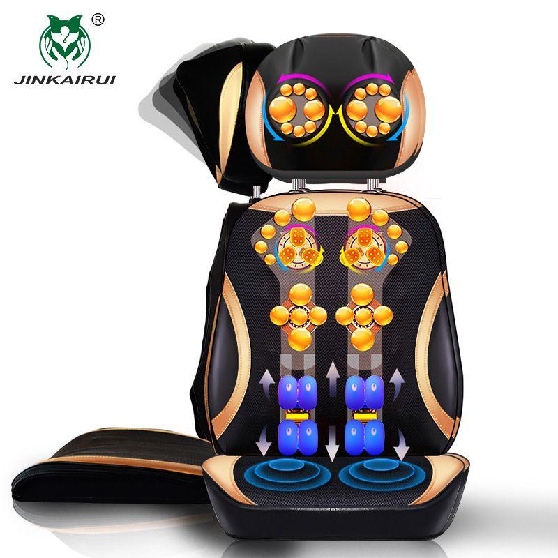 JinKaiRui Vibrant Électrique Cervicale Cou Retour Corps Ménage Fauteuil De Massage coussin de Massage Stimulateur Musculaire avec Dispositif de Chauffage