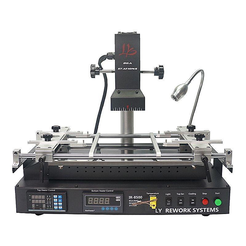 LY IR8500 infrared BGA Rework Station for laptop motherboard reparing, heating size IR8500 bigger heating size IR6500