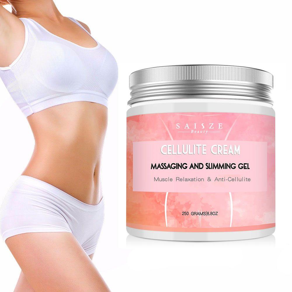 Cellulite crème chaude mince ventre graisse apaise jambe détendu Massage adipeux mince rapide resserre la peau graisse brûler mince crème unisexe 250g