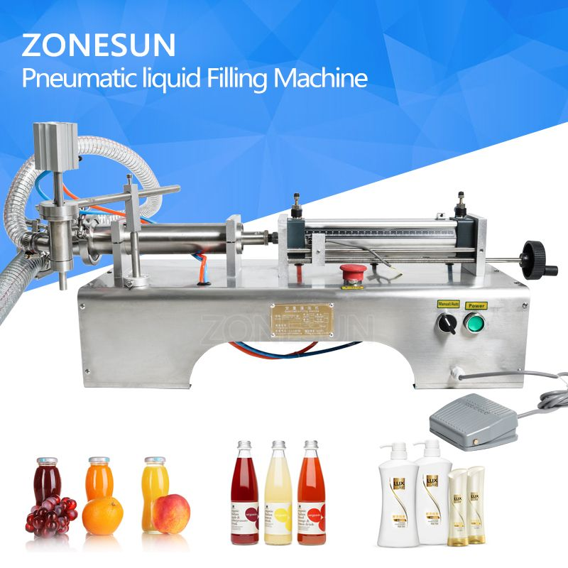 10-200 ml Pneumatische kolben flüssiger füllstoff, shampoo, gel, wasser, wein, milch, saft, essig, kaffee, öl, trinken, waschmittel füll maschine