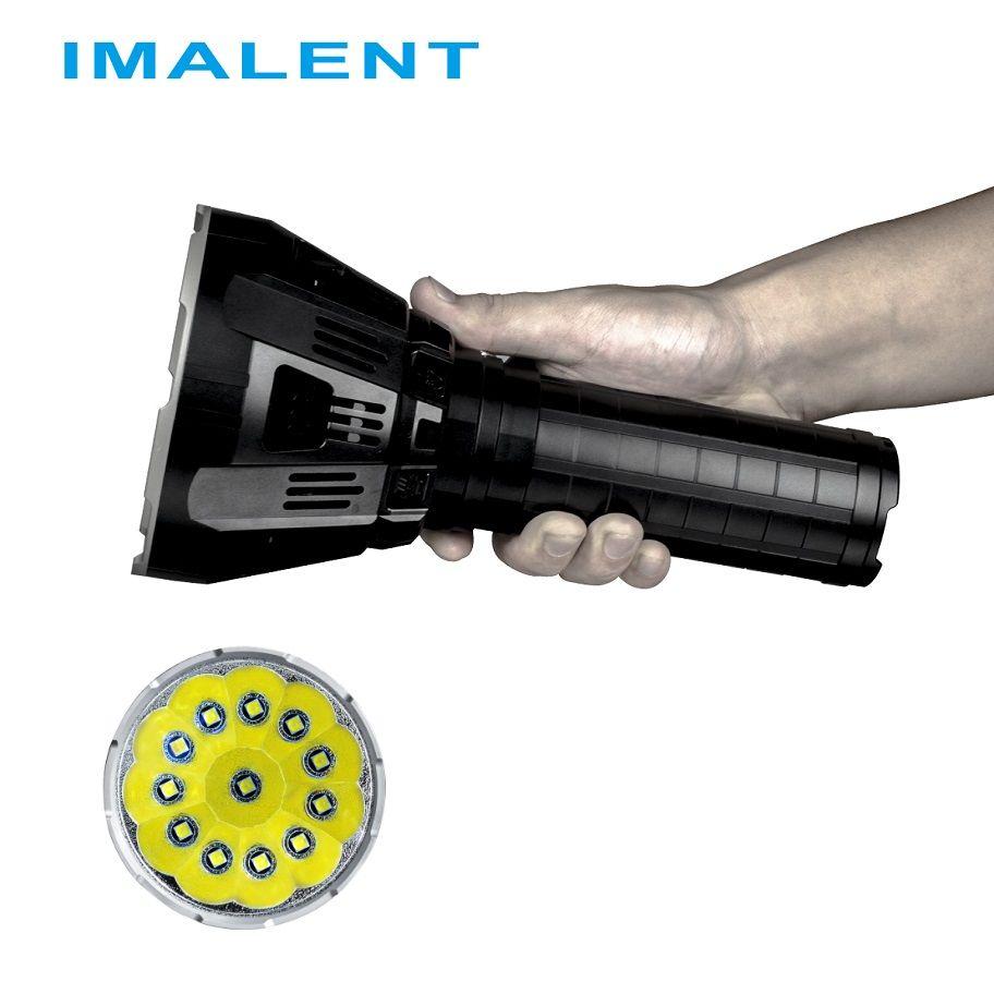 IMALENT MS12 LED Taschenlampe CREE XHP70 53000 Lumen mit Intelligente Lade für Hohe Leistung Im Freien Such Licht