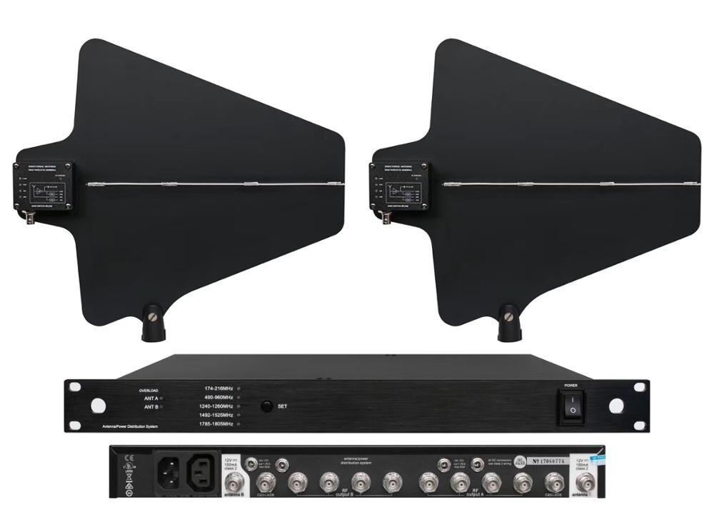 UA845 Antenne Distributor 490-960 MHz Frequenz Für Drahtlose Mikrofon verlängern 400 Meter Directional Antenne