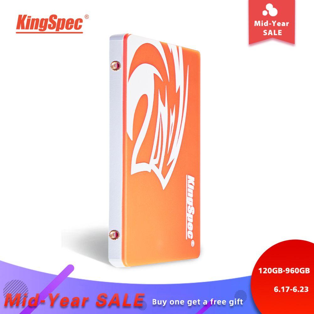KingSpec SSD HDD 2.5 SATA3 SSD 120 GB SATA III 240 GB SSD 480 GB SSD 960 gb SSD GB 7mm lecteur à semi-conducteurs interne pour pc de bureau portable