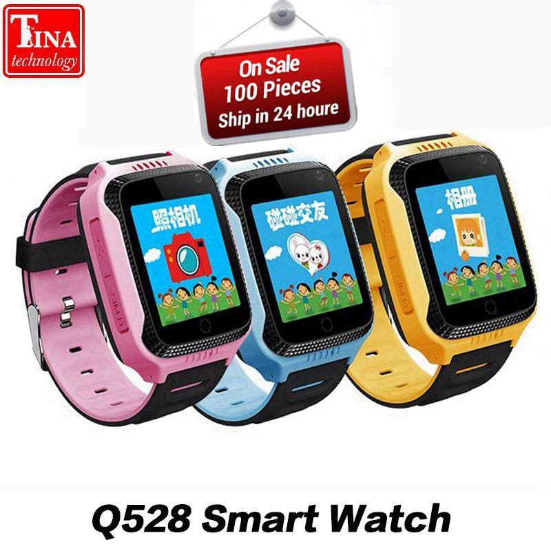 Original Q528 Y21 Touch Screen Kids GPS Watch with <font><b>Camera</b></font> Lighting Smart Watch Sleep Monitor GPS SOS Baby Watch PK dz09