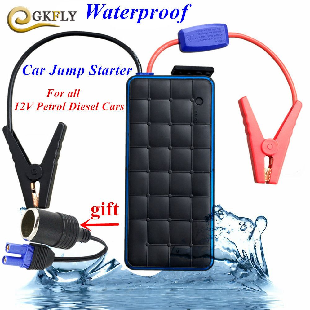 2017 Waterproof 28000mAh Car Jump Starter 1000A Pack Car-Styling Starting Device 12V Car Charger For Car Battery Booster Buster