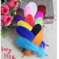 20 pcs/lot couleurs Par Ensemble Oie Plumes 15-20 cm 6-8 Pouce Doux plume Accessoire plume Maison Celebrity Décoration