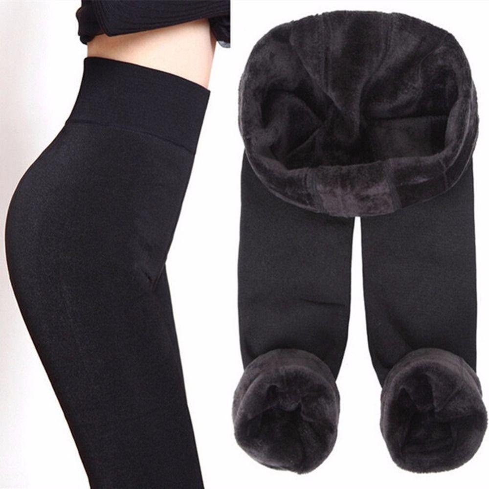 CHLEISURE S-XL 8 Couleurs D'hiver Leggings Femmes de Chaud Leggings Taille Haute Épais Velours Legging Solide Tout-Allumette Leggings Femmes