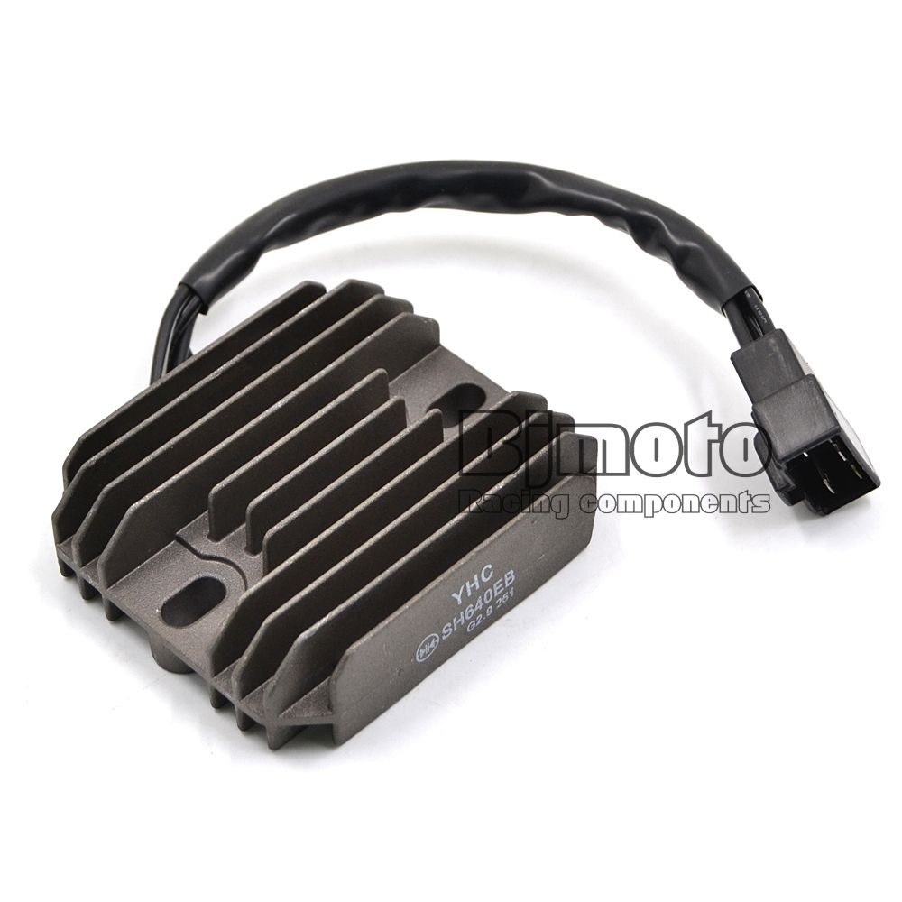 YHC SH640EB Motorcycle Metal Voltage Regulator Rectifier For Suzuki GSXR600 GSXR750 GSXR1000 GSX1300R Hayabusa VL1500 Intruder