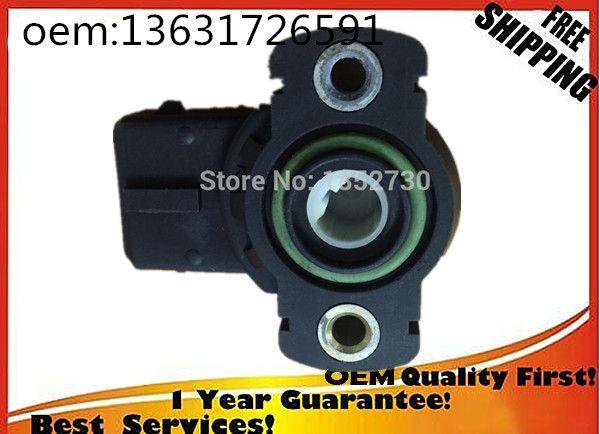 new TPS  Throttle Position Sensor  for BMW 13631721456 13631726591 1363-1721456 1363-1726591