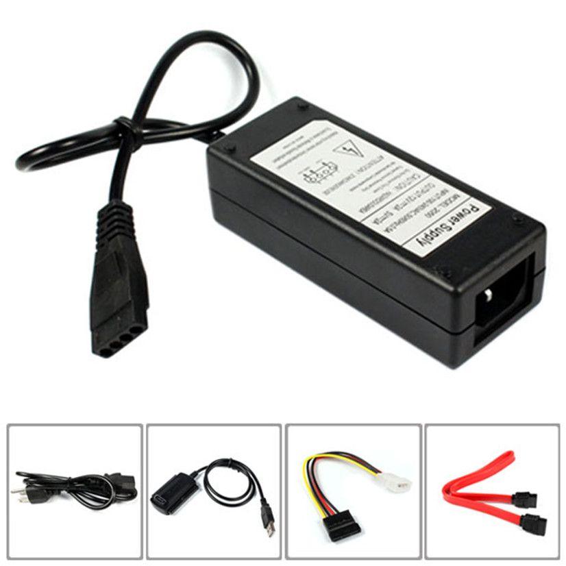 USB 2.0 vers IDE SATA S-ATA 2.5 3.5 Disque Dur HDD HD Converter Adaptateur Nouveau MOSUNX Futural Numérique Vente Chaude f35