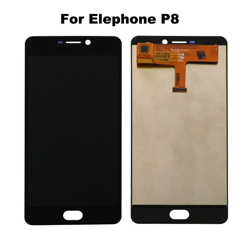For Elephone p8 LCD Display with Touch Screen Panel Assembly Repair for elephone p8 lcd screen phone Parts with Tools