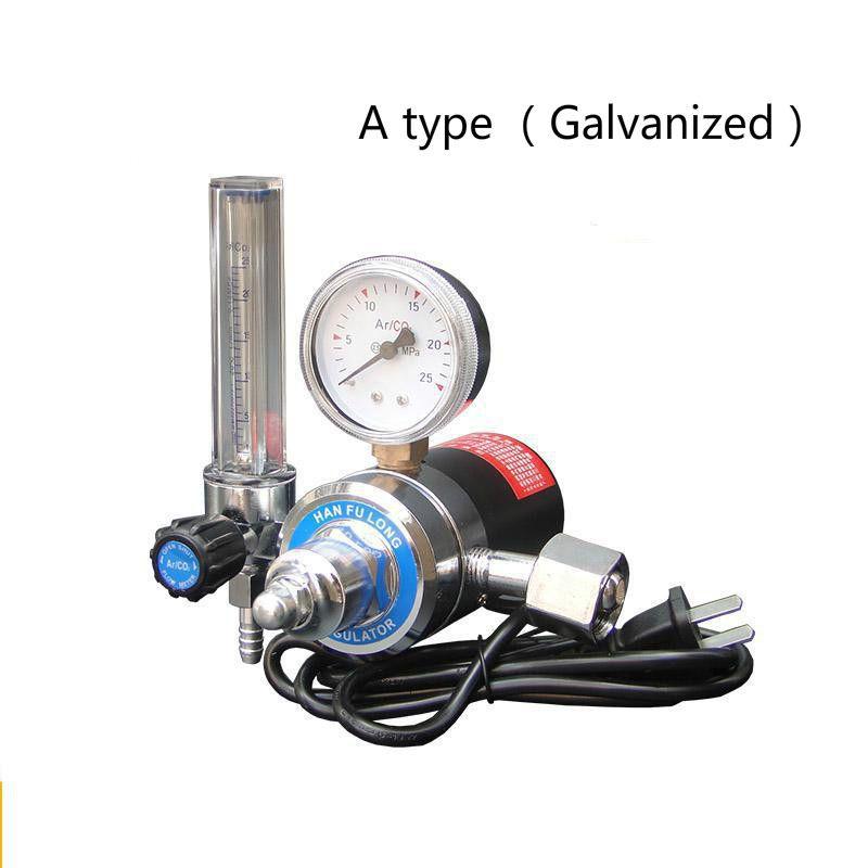 Co2 Pressure Reducing Meter Mixed Gas Heater 36C/220V Reducer control valve welding Flowmeter