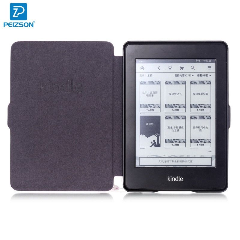 Magnetic Cover for Kindle Paperwhite Case,Smart Leather Case for Amazon Kindle Paperwhite 1 2 3 Cover wtih Auto Sleep function