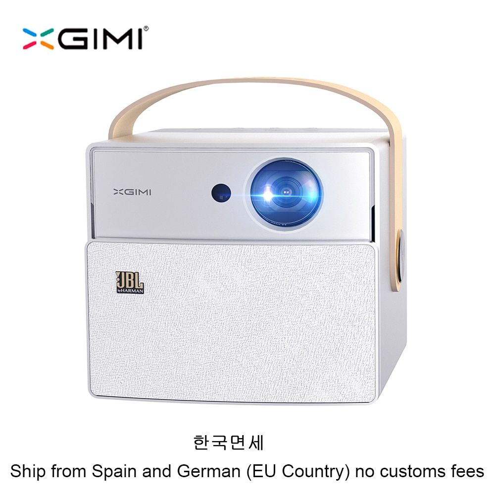 XGIMI CC Aurora Mini Portable DLP Projector Home Theater Android Wifi 3D Support 4K HD Video With Battery Videoprojecteur Beamer