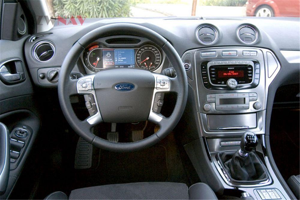 ZWNVA Tesla stil Bildschirm Android 7.1 RAM 2 gb ROM 64 gb Auto Player GPS Navigation Radio Bildschirm Für Ford Mondeo MK4 2007-2012