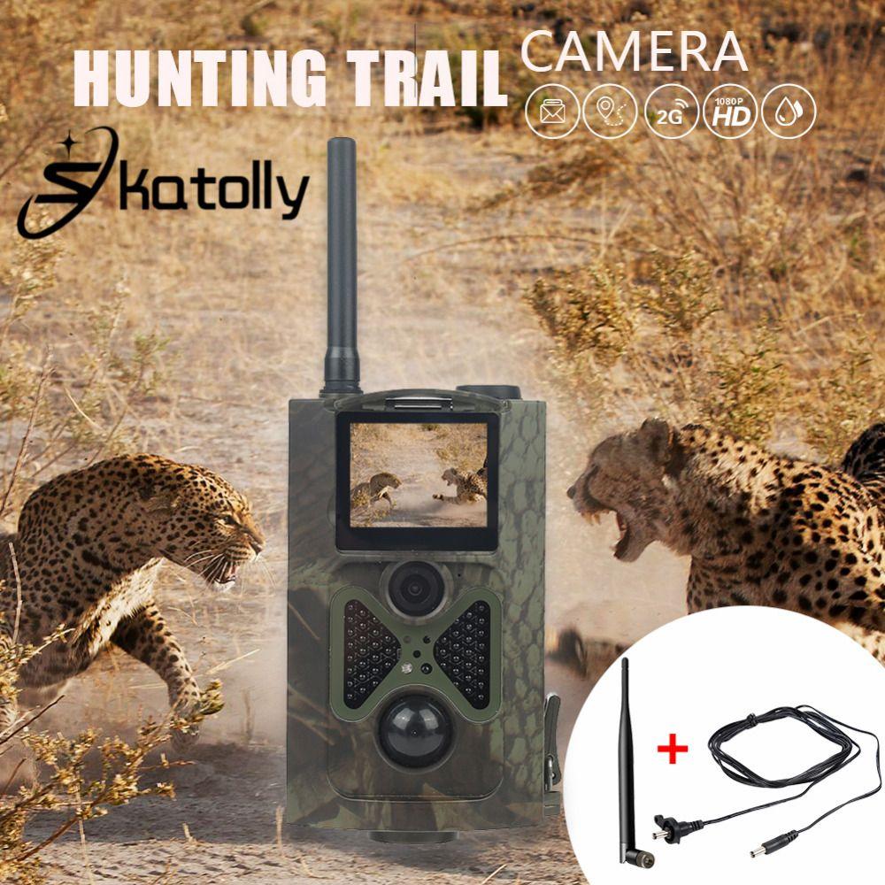 Sktolly Alten jäger Jagd Kamera Trail Kamera HC-300M Full HD 12MP 1080 P Video Nachtsicht MMS GPRS Scouting Infrarot spiel
