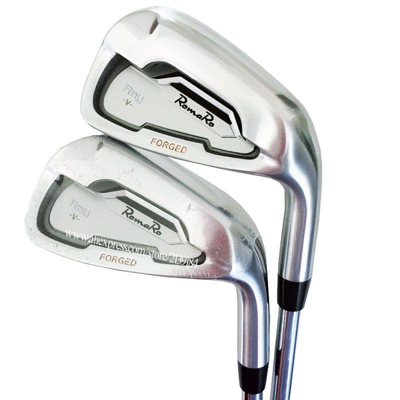 Heißer verkauf Neue herren Cooyute Golf Clubs Set RomaRo ray v Golf eisen Set 4-9 P und N S PRO 950 R Stahl Golf welle Kostenloser versand